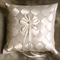 Ring Bearer Pillow - Eternal - Ivory
