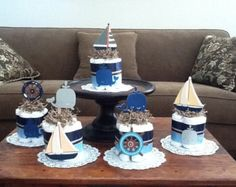 centerpieces for baby shower boy whales | Popular items for baby shower centerpiece on Etsy