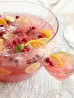 Tart or sweet, cold or hot, punch is the ideal solution for relaxed entertaining. No need to take drink orders -- just make up a batch before the party and serve, giving you time to enjoy your guests.