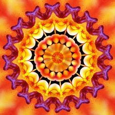 Bonté ! goodness ! bondade ! Mandala de Pierre Vermersch Digital Drawings