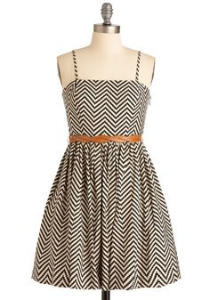 this dress, with the belt over that orange cardigan, and some cute black brogues. yes please!