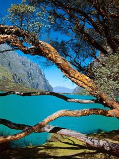 Laguna de Llanganuco, Ancash, Peru. This is where my mom's side of the family is from