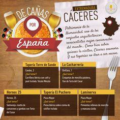 De Cañas por España: Cáceres