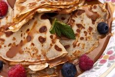 Dulce de leche Crepes with Toasted Pecans : Pati's Mexican Table