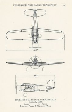Airplane Diagram, Aviation Print, Vintage Illustration, Boys Bedroom Decor, Set of 3, Passenger and Cargo Transport, Pkg 2. $10.00, via Etsy.
