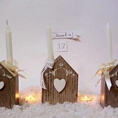 Buongiorno, oggi vi propongo delle casette portacandela in legno...❤ #natale #natale2015 #christmas #ideeregalo #regalinatalizi #regali #portacandela #casa #home #homedecor #legno #wood #instalove #instagram #instagood #instalike #art #artoftheday #photooftheday #love #photo #foto #handmadewithlove #handmadeinitaly #madeinitaly #f4f