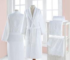 Dámský župan a ručníky z kolekce DIANA