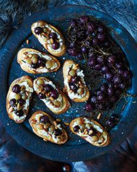 Roast grapes to deepen and concentrate their sweetness and flavor, then use them as a toast-topper with ricotta.