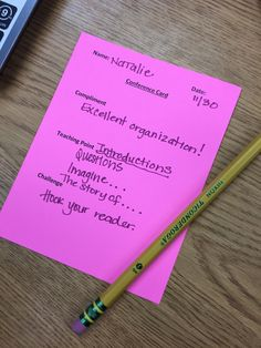 A few ideas for conferring Writing Topics, Teaching Writing, Writing Ideas, Third Grade Writing, Second Grade, Writing Notebook, Formative Assessment, Writer Workshop, Math Teacher