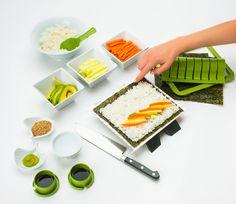 Amazon.com | Sushiquik Sushi Making Kit Fun Easy: Sushi Plates: Sushi Plates