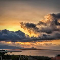 Even a cloudy morning can be very beautiful Greece Photography, Crete, Landscape Photography, Life Is Good, I Am Awesome, Sunrise, Celestial, Sea, Outdoor