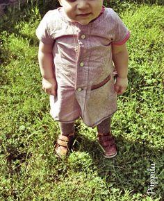 Genäht aus Papa's Hemd JoJoundLotta.blogspot.com