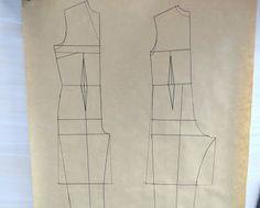 """Cómo hacer el patrón de """"mono"""" o """"enterizo"""" Pattern Illustration, Jumpsuit, Sewing, Blog, Fresco, Album, Studio, Handmade, Outfits"""