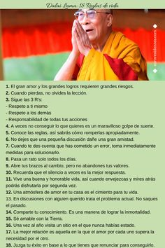 Superación Personal: Dalai Lama: 18 Reglas de vida