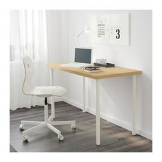 1000 ideas about pied de table reglable on pinterest - Ikea table rectangulaire ...