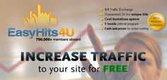 Make money, get traffic for FREE. No limits to surf and earn!