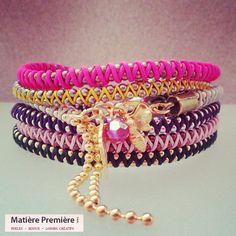 Bracelet Zig-Zag http://www.matierepremiere.fr/bracelet-zig-zag.html