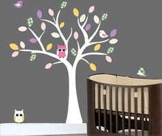 Adorable! My child will have a tree in his/her room.