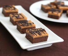 Peanut Butter Fudge Brownies Shared on https://www.facebook.com/LowCarbZen