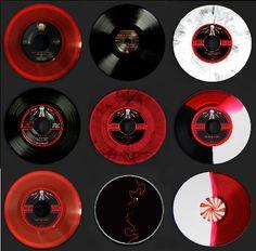 White Stripes rare vinyl. #records #vinyl #whitestripes http://www.pinterest.com/TheHitman14/for-the-record/