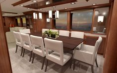 Designing Under the Influence Part Two--Custom Yacht Interior Design Influences