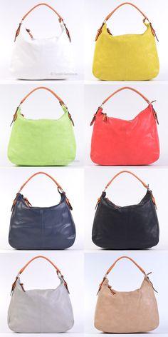 Nowy model na lato w 8 modnych kolorach! Duża, pojemna, wygodna w noszeniu torba mieszcząca format A4. Dostępne kolory: biały, żółty, zielony limonkowy, czerwony, ciemny granatowy, czarny, szary / popielaty, beżowy #torebki #handbags #fashion
