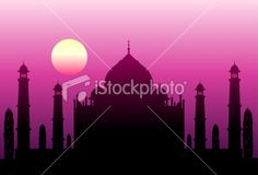 India Royalty Free Stock Vector Art Illustration