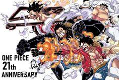 Luffy Gear Fourth Otaku Anime, Manga Anime, Anime One, One Piece Anime, Luffy Gear Fourth, One Piece Tattoos, One Piece Drawing, One Piece World, One Piece Pictures
