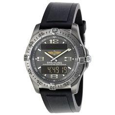 Breitling Aerospace Grey Dial Mens Watch E7936210-M513TI
