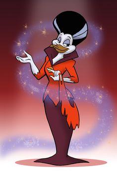 Darkwing Duck and Morgana belong to Disney. Description from deviantart.com. I…