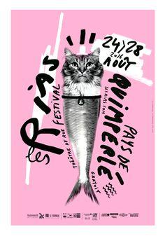 Festival Les Rias - visuel 2016 création / Séverine Lorant lejardingraphique.com