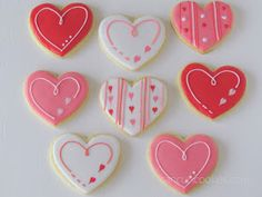 CancunCOOKIES: valentine's cookies