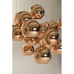 Copper Shade pendel från Tom Dixon – Köp online på Rum21.se