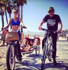 Santa Monica. Septembre 2012 Marnes La Coquette, Santa Monica, Men Clutch Bag, Christian Audigier, Album Photo, Harley Davidson, Photos, Culture, Celebrities