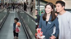 Ji Sung and Lee Bo Young Share Adorable Moment Of Daughter Jiyu Mesmerized At The Airport Lee Bo Young, Sung Lee, Ji Sung, Save The Last Dance, New Heart, Korean Couple, Secret Love, Two Year Olds, Korean Actors