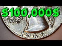 $100,000 | 1965 Washington Quarter-Dollar | Tails-Tails Makes a Winner of Unique Quarter's Finder - YouTube
