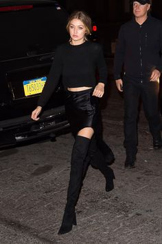 Gigi Hadid's Answer to Sexy Holiday Dressing Is Equal Parts Stylish and Affordable
