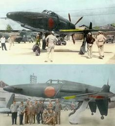 Kyushu J7W1 Shinden interceptor/fighter. Only two prototypes were built by the Japanese Air Force. Only one remains and is in storage at the NASM in Maryland USA.