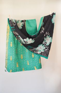 Fashion Forward No. 32 Silk + Cotton | handandcloth.org #kantha #textiles