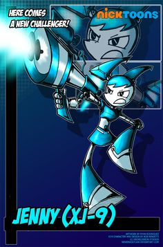 Nicktoons - Jenny (XJ-9) by NewEraOutlaw.deviantart.com on @deviantART