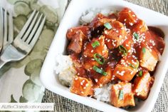 Healthy & Easy Crock Pot Sesame Chicken - skip the takeout and grab your Slow Cooker!