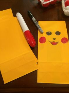 Pikachu Goody Bags Pokemon Party