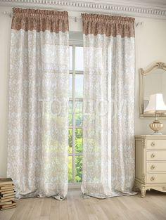 """Комплект штор """"Зафир"""": купить комплект штор в интернет-магазине ТОМДОМ #томдом #curtains #шторы #interior #дизайнинтерьера"""