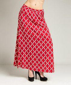 Red Diamond Skirt #zulily #zulilyfinds