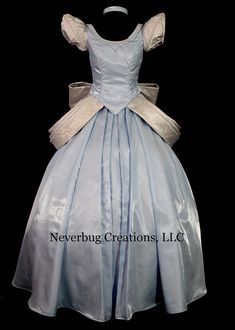 You can buy real life Disney Parks costumes here. Beautiful & Unreal. - Adult Cinderella Parks Version Costume Custom by NeverbugCreations