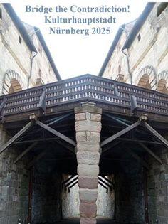 'Bridge the Contradiction! Nürnberg 2025 XXXI' von Martin Blättner bei artflakes.com als Poster oder Kunstdruck $15.77