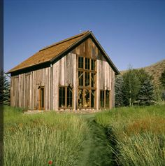 Barn house, Miller Architects, Bozeman, Montana