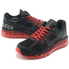http://www.asneakers4u.com/ 2013 Nike air max cheap mens shoes black red 2 40 47 Sale Price: $68.70