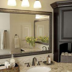 vanity mirror instead of medicine cabinet   Bathroom Design, Pictures, Remodel, Decor and Ideas - page 5