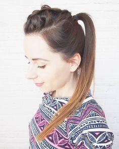 """Fryzura nr 4 w ramach wyzwania """"tydzień z kucykiem - 7 fryzur w 7 dni"""" już na blogu  Czeszecie?  #wyzwanie #fryzury #krokpokroku #kucyk #warkocz #wlosy #fryzuromania #wlosomaniaczka #blogowlosach #blogerka #ja #dziewczyna #brunetka #me #selfie #hairselfie #hotd #hairart #lovehair #brunette #ponytail #braid #braidideas #dutchbraid #hairstyle #hair #fashion #hairchallenge #hairblog #hairblogger"""